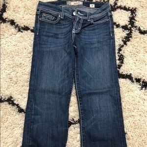 BKE cropped jeans